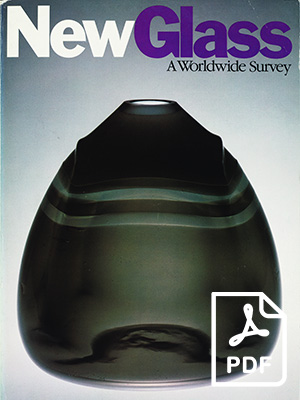 New Glass: A Worldwide Survey (cover) - pdf