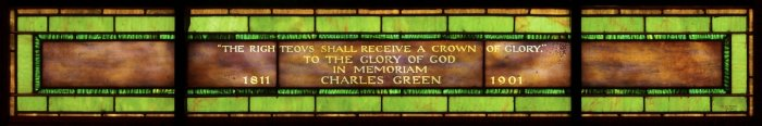 The Righteous Shall Receive a Crown of Glory, Louis Comfort Tiffany
