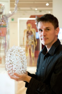 Luke Jerram, Photo courtesy of Wellcome Trust